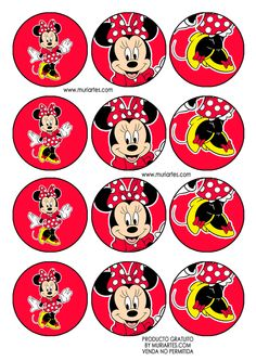 Mimi Y Mickey, Minnie Y Mickey Mouse, Mickey Mouse Classroom, Disney Classroom, Minnie Mouse Birthday Decorations, Mickey Mouse Birthday, Mini Mouse Cupcakes, Mickey Mouse Imagenes, Minnie Mouse Pictures