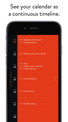 Moleskine Timepage – Calendar for iCloud, Google & Exchange by Moleskine Srl