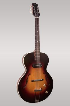 Loar Thinbody Archtop LH-301-T. See website for all specs: http://www.theloar.com/products/archtop-guitars/thinbody-archtop-lh-301-t