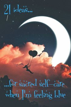 21 ideas for sacred self-care when I'm feeling blue... New Moon Rituals, Full Moon Ritual, Wicca, Magick, Witchcraft, Color Magic, Candle Magic, Crystal Magic, Numerology