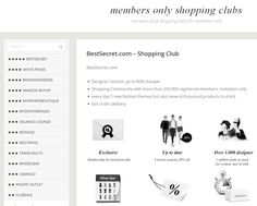 http://members-only-shopping.com