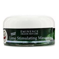Eminence Lime Stimulating Masque - 60ml/2oz by Eminence. Save 46 Off!. $56.50. Lime Stimulating Masque. Eminence - Cleanser. 60ml/2oz. Skincare. A deep cleansing, detoxifying mask Helps banish fatigue, promote skin cell turnover & reduce blemishes Contains Lime & Lemon, source of vitamin C that offers antioxidant protection Formulated with Thermal Water to hydrate & soften skin Blended with Nettle to encourage skin cell circulation & oxygenation Reveals a clearer, smoother, healthier…
