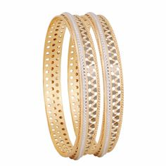 Experience our exquisite gold bangle designs & designer collections at Zar Jewels. Our bangle collection also showcases a glimpse of Italian & Turkish jewellery. Gold Bangles Design, Jewelry Design, Designer Bangles, Wedding Earrings Studs, Wedding Jewelry, Diamond Bangle, Diamond Jewelry, Rose Gold Jewelry, Gold Jewellery