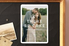 Cake (and a Wedding) by Up Up Creative at minted.com