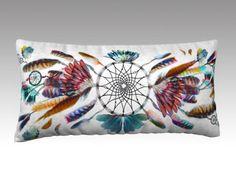Dreamcatcher pillow, 24 x 12 inches pillow cover only, soft Velveteen, boho…