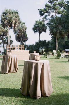 Taupe Wedding Linen | photography by http://www.ashleyseawellphotography.com/