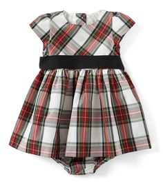 ecd8a72df1ab Ralph Lauren Childrenswear Baby Girls 3-24 Months Plaid Fit-And-Flare Dress