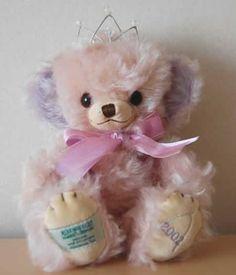 メリーソート プリンセスチーキー 商品名:プリンセスチーキー 製造年:2002年 サイズ:10インチ(25cm) 素材:モヘヤ カラー:薄いピンク…