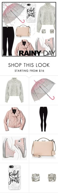 """""""Rainy Day"""" by thewizardingworld ❤ liked on Polyvore featuring Isabel Marant, Mackage, Lipsy, Madewell, Mark Cross, Casetify and contestentry"""