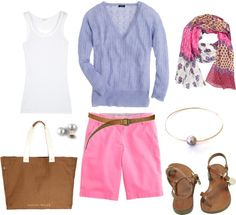 """""""Ethnic Scarf"""" by bluehydrangea on Polyvore"""