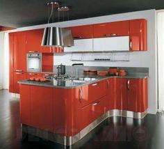 #kitchen #design #interior #furniture #furnishings комплект в кухню Cucine Lube Katia, CLK10OW