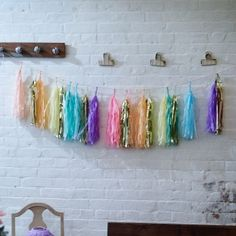 f683fef6a6f86 28 Best Using Tassel Garlands in the Home images | Garlands, Tissue ...