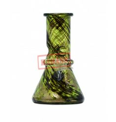 "6"" Army Soft Glass Water Pipe."