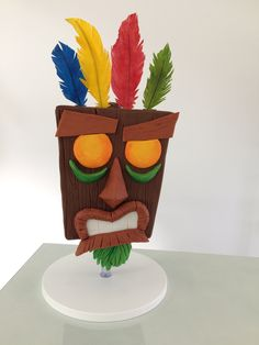 Crash bandicoot cake
