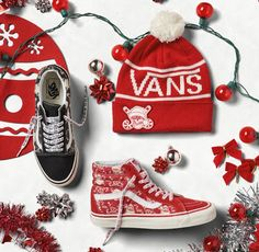 EffortlesslyFly.com - Kicks x Clothes x Photos x FLY SH*T!: Vans Shows Christmas Spirit on New Sneaker Collect...