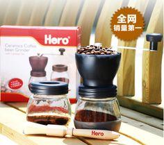 Hero coffee grinder ceramic core hand grinder x-2 c manual coffee machine grinding machine
