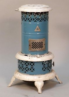 Kerosene Heater we had one when I was child. The light patterns it caste made it seem magical.