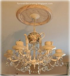 Forever Decorating!: My Teacup Chandy!!