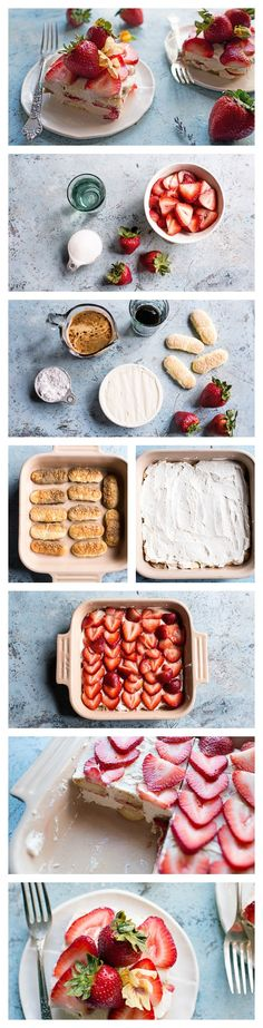 Whip up this easy no-bake tiramisu for a berry fun-filled summer dessert!