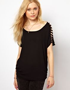 Vero Moda Ladder Shoulder Top