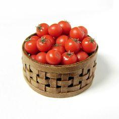 Tomatoes - 1:12 Scale Dollhouse Miniature Food