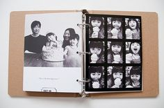 15 creative photobook ideas - some really good non-static ones too!