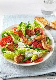 Bunter Hähnchensalat - Sommer: Salat-Rezepte - Seite 1 - [ESSEN & TRINKEN]