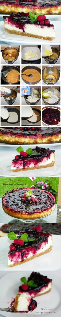 Cheesecake Cake, Mini Cheesecakes, Sweet Cakes, Dessert Recipes, Desserts, Sin Gluten, Kitchen Recipes, Tapas, Food And Drink