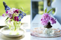 Karin Lidbeck: Thumbnail Flower Arrangments for Spring