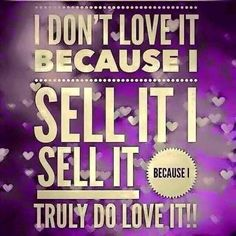 This is sooo true! I believe you can't sell a great product if you can't stand behind them!