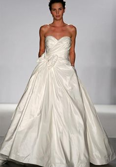 """""""Maeve"""" by Vineyard collection - one of the dresses I was seriously considering; Ball Gown Strapless Taffeta wedding Dress Style Maeve"""
