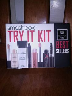 SMASHBOX TRY IT KIT W/ SAMPLES!!!