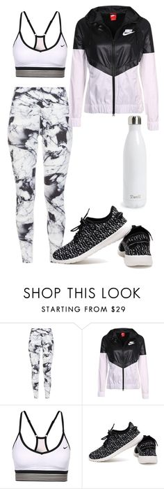 """""""Untitled #477"""" by dreamer3108 on Polyvore featuring Varley, NIKE, S'well, sport, sporty and sportystyle"""