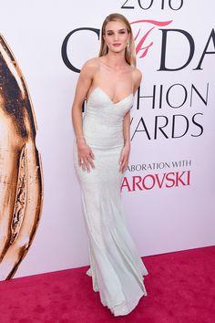 Rosie Huntington-Whiteley Beaded Dress - Rosie Huntington-Whiteley Looks - StyleBistro
