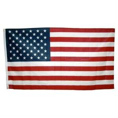 3ft x 5ft Poly Cotton American Flag - U.S. Made by Flag Zone. $6.99. Polyester heading and brass grommets. Fully printed. Measures 3' x 5'. Made in the U.S.A.. This 3ft x 5ft Poly Cotton American Flag is fully printed and then finished with a polyester heading and brass grommets. This flag is a great choice for those of you that are on a budget. Made in the U.S.A.