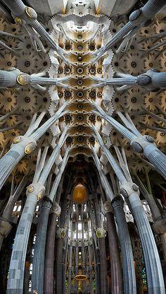 La Sagrada Familia, una gran obra d'art en si mateixa www.amatimmobiliaris.com