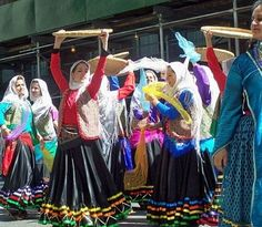 Persian dancers. The dance form is very popular in Iran, the dance its self is highly individualistic and also heavily relies on solo improvisation performances like most other iranian art forms.