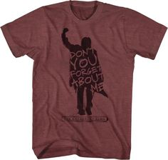 73d66eda4 Breakfast Club Don t You Forget About Me T-Shirt - Movie T-