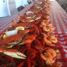 Louisiana crawfish, crab and shrimp - the three reasons I could probably be a vegetarian! :)