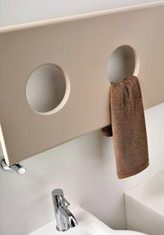 sèche serviette design détail