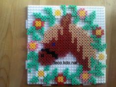Horse frame hama perler beads by deco.kdo.nat