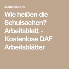 8 besten Deutsch Bilder auf Pinterest | Deutsch unterricht, Sprachen ...