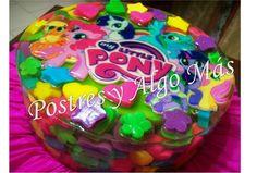 Gelatina en 3D encapsulada ( Little Pony)