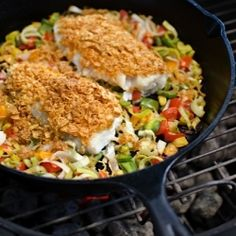 Crusted Tripletail: the best fish you'll ever taste!