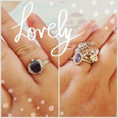 Lovely new #rings have arrived today. Cheering me up nicely - still feeling under the weather  #cute #jewelry #magic #littlethings #life #happy #acatlikecuriosity