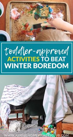 Toddler-Approved Activities to Beat Winter Boredom — The Systems Mama Toddler Play, Toddler Learning, Toddler Snacks, Baby Play, Toddler Preschool, Indoor Activities For Toddlers, Infant Activities, Preschool Activities, Winter Activities