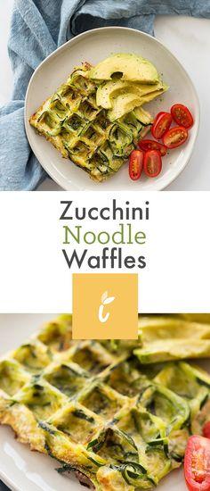 Zucchini Noodle Egg