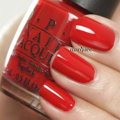 OPI Nail Polish Classics Collection Color Big Apple Red N25 0.5oz 15ml: Beauty