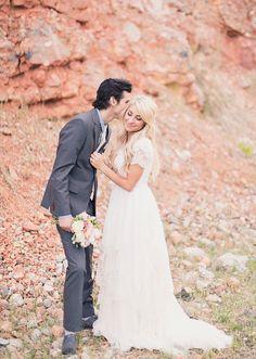 Desert Beauty - Modest Wedding Gown