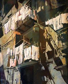 Charleston, South Carolina award winning artist specializes in painting original watercolors, teaching  watercolor workshops & jurying - instructional videos